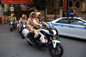 Công an Hà Nội: Đảm bảo cho người dân an toàn đón Tết