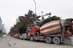 Xe bồn tung hoành Hà Nội ngày cận Tết: Phòng CSGT xử lý nghiêm