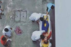 Vụ người phụ nữ rơi từ tầng lầu bệnh viện: Thông tin chính thức