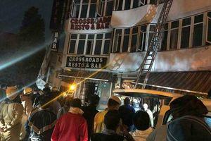 17 người chết vì cháy khách sạn ở Ấn Độ