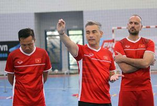 Đội tuyển futsal quốc gia tập trung chuẩn bị cho Giải Đông - Nam Á
