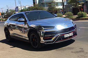Đại gia Minh Nhựa lái xe Lamborghini Urus 23 tỷ phượt Tết