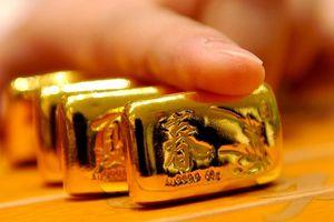 Vàng thế giới giảm, vàng trong nước tăng