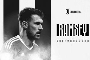 Aaron Ramsey chính thức gia nhập Juventus với mức lương 'khủng'