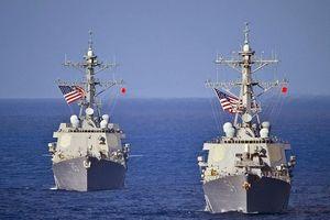 Mỹ tuần tra hàng hải sát Vành Khăn, Anh tăng cường bảo vệ lợi ích ở Biển Đông
