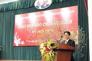 'Báo chí cùng góp sức khơi dậy những điều tốt đẹp của Việt Nam'