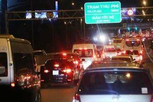 'Cấm cửa' 2 ô tô vào cao tốc: Tổng cục Đường bộ yêu cầu VEC giải trình