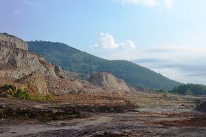 Đà Nẵng: Sau khai thác, DN chây ì phục hồi môi trường, hàng trăm ha đất bỏ hoang