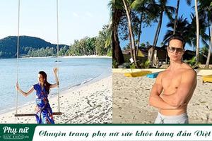 Cường Đô la du lịch bên vợ mới, Hồ Ngọc Hà nắm tay Kim Lý vi vu Thái Lan