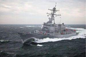 Mỹ điều tàu chiến tới sát Đá Vành Khăn, Trung Quốc phản ứng gay gắt