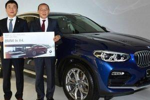 Hãng xe Hàn Quốc trao tặng 'Thầy Park' xe sang BMW X4 thời trang và cá tính