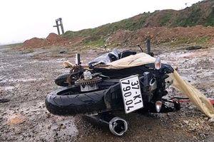 Phát hiện người đàn ông chết cạnh xe máy trên đường Nghệ An