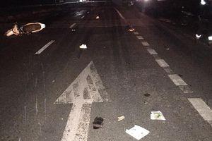 Hà Tĩnh: 3 thanh niên đi xe SH tử vong sau va chạm bất ngờ với ô tô