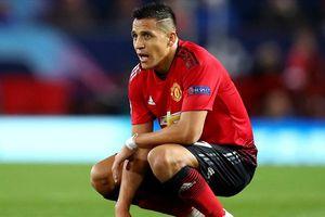 HLV Solskjaer thừa nhận 'bó tay' với Alexis Sanchez sau trận gặp PSG