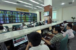 Thị trường chứng khoán phiên giao dịch sáng 13.2: Giảm đà hưng phấn