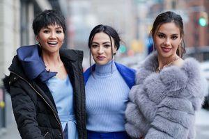 H'Hen Niê và Miss Universe 2018 đọ sắc tại Tuần lễ thời trang New York
