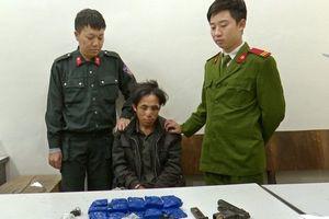 Một chiến sĩ công an bị thương khi truy bắt tội phạm ma túy