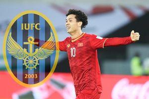 Công Phượng chuẩn bị lên đường gia nhập CLB Incheon United