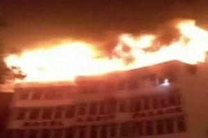 Ấn Độ: Cháy khách sạn, ít nhất 17 người chết