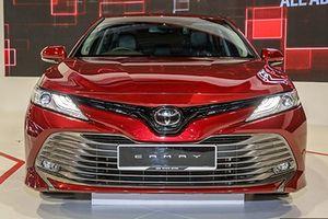 Toyota Camry thế hệ mới sắp về Việt Nam an toàn ra sao?