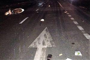 Xe máy tông xe tải, 3 thanh niên tử vong