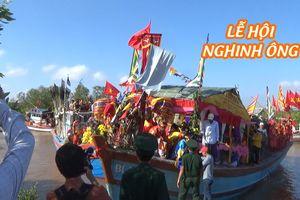 Ngư dân Bạc Liêu tưng bừng tham gia lễ hội Nghinh Ông