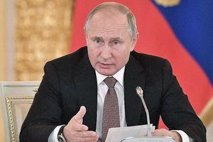 Nga công bố 12 dự án quốc gia lớn