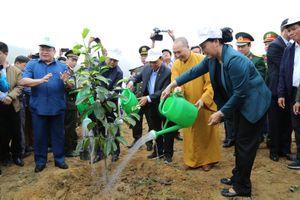 Chủ tịch Quốc hội dự lễ ra quân Tết trồng cây 'Đời đời nhớ ơn Bác Hồ'