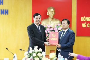 Nhân sự mới Quảng Ninh, Nghệ An, Sóc Trăng