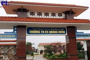 Trường THCS một huyện nghèo ở Quảng Bình chi sai nguyên tắc tiền tỷ