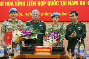 Thêm một sĩ quan Việt Nam làm nhiệm vụ gìn giữ hòa bình tại Nam Sudan