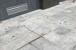 Nhân chứng bàng hoàng kể lại giây phút người phụ nữ nhảy từ tầng 6 chung cư ở Hà Nội