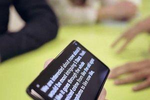 Android 10 sẽ có phần mềm hỗ trợ cho người khiếm thính