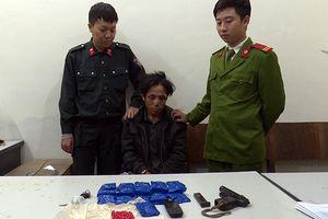 Sơn La: Tàng trữ trái phép ma túy, bắn bị thương 1 cán bộ công an