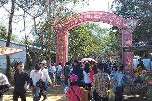 Thanh Hóa: Khai mạc Lễ hội Đền Nưa - Am Tiên năm 2019
