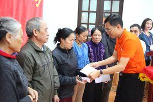 Ngân hàng SHB Ninh Bình tặng quà cho 100 hộ nghèo, cận nghèo