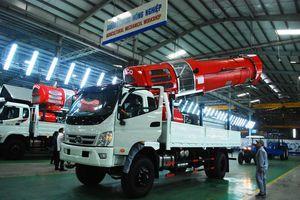THACO: Thu hơn 60 triệu USD từ xuất khẩu ôtô và linh kiện phụ tùng