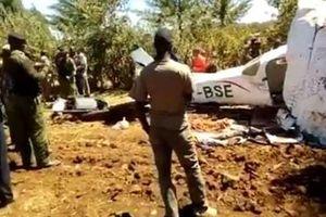 Máy bay hạng nhẹ rơi tại Kenya, toàn bộ hành khách thiệt mạng