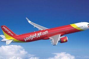 Cổ phiếu VJC của VietJet liên tục giảm điểm sau vụ máy bay hỏng lốp