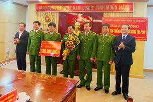 Thanh Hóa: Thưởng 330 triệu đồng cho 3 đơn vị công an lập thành tích xuất sắc