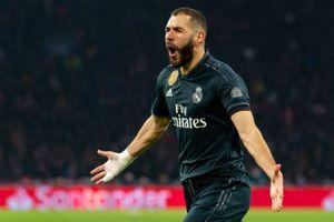 Benzema lập công giúp Real giành lợi thế ở cúp châu Âu