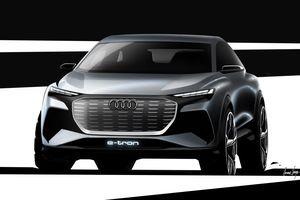 Audi công bố concept Q4 E-Tron, sản xuất năm 2021