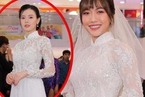 Sao Việt rủ nhau đi 'ăn cưới' Diệu Nhi, người đẹp này vừa xuất hiện đã bị nhầm là cô dâu