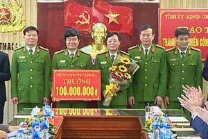 Thanh Hóa: Phá 2 chuyên án 'khủng', công an được thưởng 330 triệu