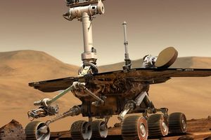 Tàu thăm dò của NASA 'chết' trên sao Hỏa vì bão cát kinh hoàng
