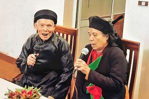 Nghệ nhân gần trăm tuổi vẫn đi theo tiếng gọi của những canh hát quan họ