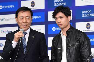 Công Phượng chính thức ra mắt tại CLB Incheon United