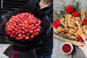 Ngắm những bó hoa Valentine từ đồ ăn khiến tín đồ hảo ngọt mê mẩn
