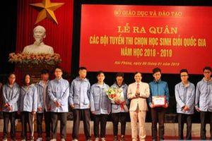 Học sinh Hải Phòng giành 72 giải HSG quốc gia năm học 2018-2019