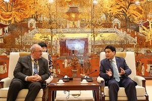 Tăng cường hợp tác giữa Hà Nội và Vương quốc Bỉ